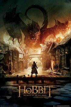 Plakat Hobbit - Smaug