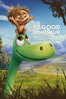 Plakát Hodný dinosaurus - Arlo and Spot