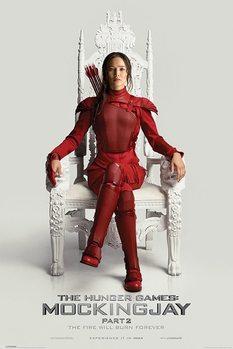 Plakát Hunger Games: Síla vzdoru 2. část - Throne