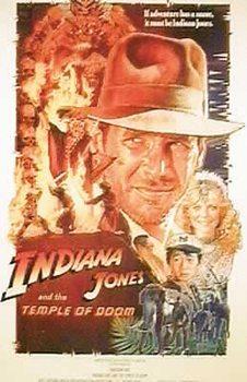 Plakát Indiana Jones a Chrám zkázy