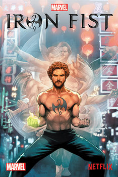 Plakat Iron Fist - Comic