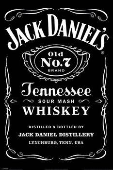 Plakát Jack Daniel's - Label
