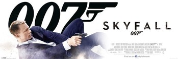 Plakat JAMES BOND 007 - bond in dust