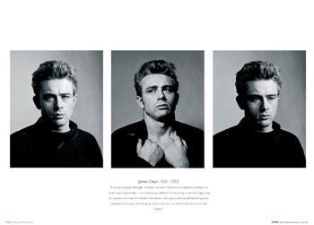 Plakát James Dean - Trio