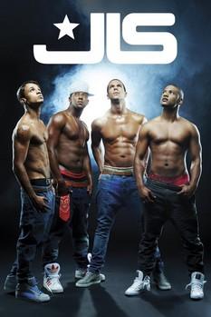 Plakát JLS - shirtless