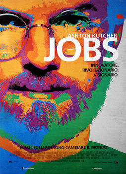 Plakat Jobs - Ashton Kutcher as Steve Jobs