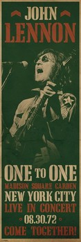 Plakát John Lennon - concert