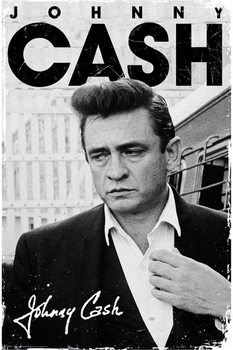 Plakát Johnny Cash - signature