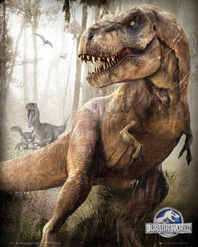 Plakat Jurassic World - T-Rex
