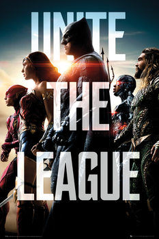 Plakat  Justice League  - Team