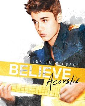 Justin Bieber - acoustic plakát, obraz