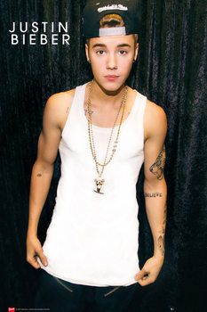 Justin Bieber - cap plakát, obraz