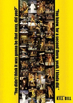 Plakát KILL BILL - photo strip