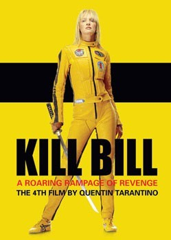 Plakát KILL BILL - yellow leathers