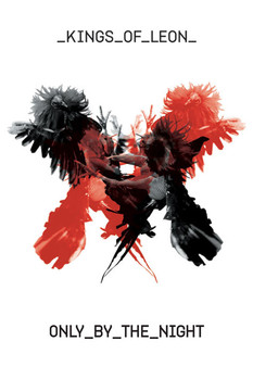 Plakát Kings of Leon - only by the night