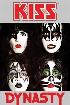 Plakat Kiss - dynasty