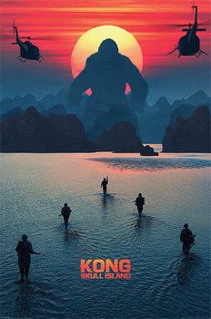Plakát  Kong: Ostrov lebek - Horizon