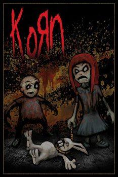 Plakat KORN - dead bunny