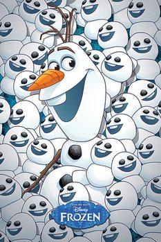 Plakat Kraina lodu - Olaf