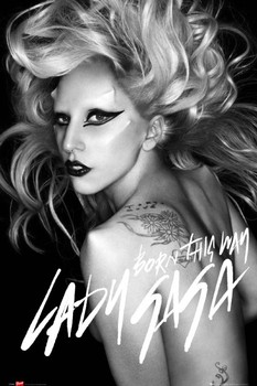 Plakát  Lady Gaga - born this way