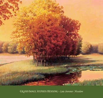 Reprodukcja Late Summer Meadow