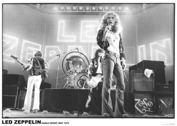 Plakat Led Zeppelin - Earls court