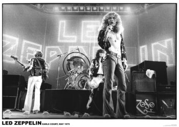 Plakát Led Zeppelin - Earls Court May 1975