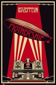 Plakat Led Zeppelin - mothership