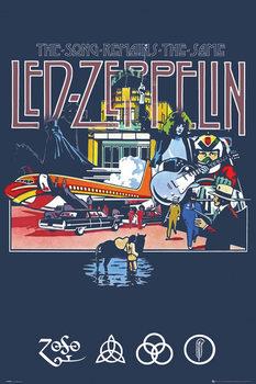Plakat Led Zeppelin - Remains