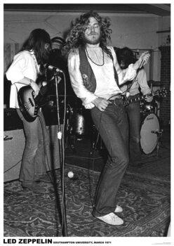 Plakát Led Zeppelin - Southampton Uni