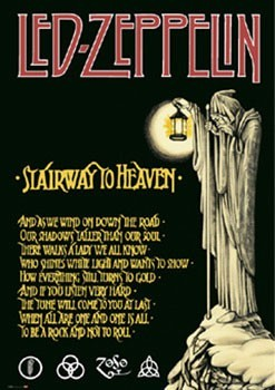 Plakat Led Zeppelin - stairway