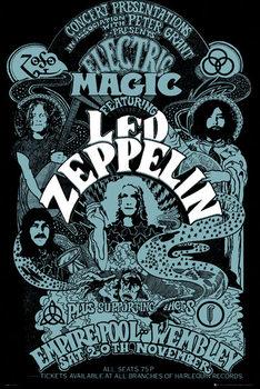 Plakat Led Zeppelin - Wembley