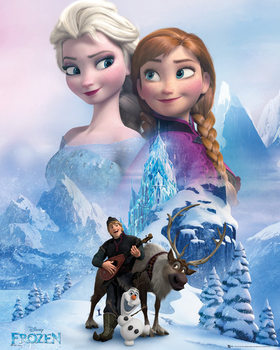 Plakát  Ledové království - Collage