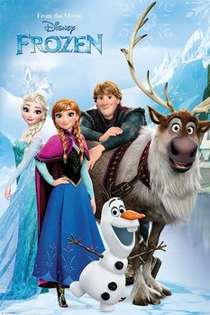 Plakát Ledové království - Lakeside