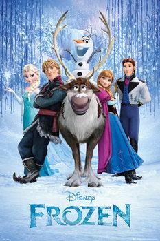 Plakát Ledové království - Teaser