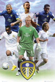 Plakat Leeds - players 2010/2011
