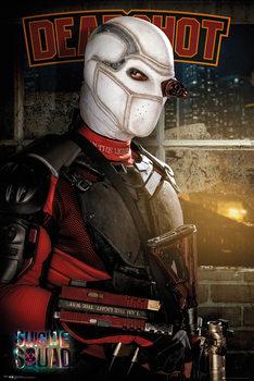 Plakat Legion samobójców - Deadshot