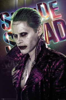 Plakat Legion samobójców - Joker