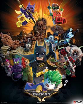 Plakát Lego® Batman - Boom
