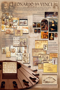 Plakat Leonardo Da Vinci