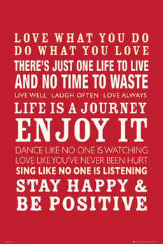 Plakát Life - Quotes