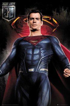 Plakat  Liga Sprawiedliwych - Superman