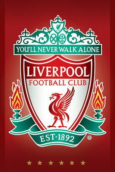 Plakát Liverpool FC - Crest