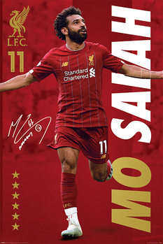 Plakat Liverpool FC - Mo Salah