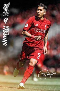 Plakát  Liverpool - Roberto Firmino 18/19
