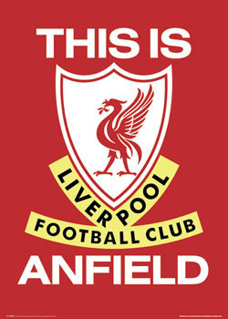 Plakat Liverpool - this is anfield