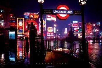 Plakat Londyn 1977