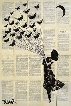 Plakát Loui Jover - Butterflying