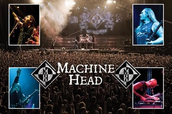 Plakat Machine Head - live