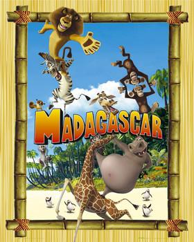 Plakát MADAGASCAR - bamboo-be